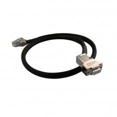 Cable Assy 9-Pin D-type, F/F, 0.5M, 40-970-009-0.5m-FF