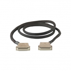 50-Pin Female to Female D-Type Cable Assy, HV, 2m, 40-970-050-2m-FF-HV