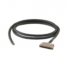 Cable Assy 68-Pin Micro-D F/Unterm 0.5m - A068SFR-F-6A050