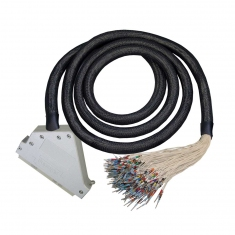 Cable Assembly, 160-Pin DIN41612, Female to Unterminated With Tinned Ends, 0.5m, A1604F5-T-0A050