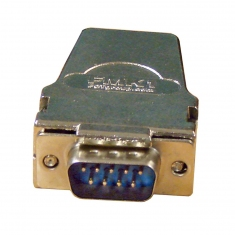 9-Pin D-type Male, Solder Bucket, HV, 40-960-009-M-HV