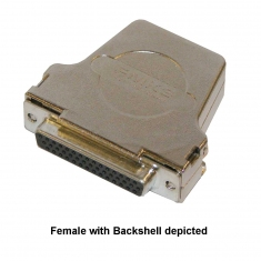 44-Pin D-Type Conn without Backshell Female Solder Bucket  - 92-960-044-F