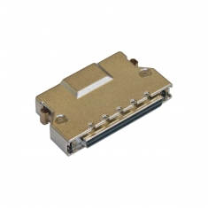 68-Pin SCSI Micro-D Female Discrete Wire - 40-962-068-F