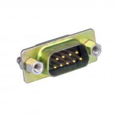 9-Pin D-type, Male, Straight PCB Mount, 40-963-009-SM