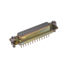 25-Pin D-type Female Straight PCB Mount - 40-963-025-SF