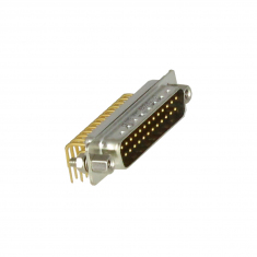 25-Pin D-type Male Right Angled PCB - 40-963-025-RM
