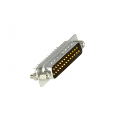 25-Pin D-type Male Straight PCB Mount - 40-963-025-SM