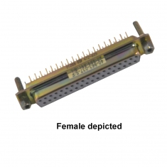 37-Pin D-type Male Straight PCB HV - 40-963-037-SM-HV