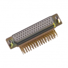 50-Pin D-Conn Female Right Angle PCB - 40-963-050-RF