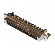 68-Pin SCSI Micro-D Male Right Angle PCB - 40-963-068-RM
