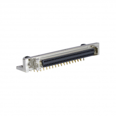 68-Pin SCSI Micro-D Fem. Right Angle PCB - 40-963-068-RF