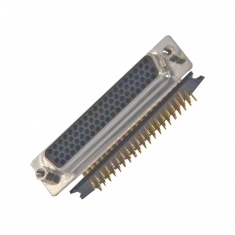 78-Pin D-type Female Right-Angle PCB - 40-963-078-RF