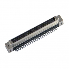 96-Pin SCSI Micro-D male Right-Angle PCB - 40-963-096-RM