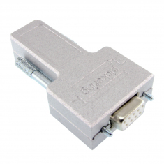 9-Pin D-type Female Connector Block - 40-965-009-F