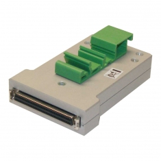 68-Pin SCSI Micro-D Conn Block Female DIN - 40-966-068-F