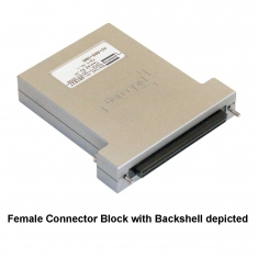 PXI 96-Pin Shielded Connector Block without Backshell - 92-965-096-M