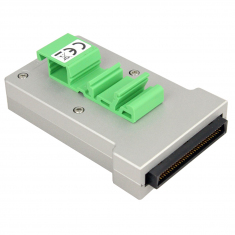 68-Pin SCSI Micro-D Conn Block Male DIN - 40-966-068-M