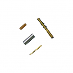 MS-M RF Connector Pins for RG178 Coaxial Cable - 40-969-501-FC