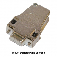 9-Pin D-type Female Without Backshell, Solder Bucket, HV, 92-960-009-F-HV