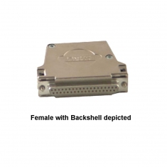 37-Pin Female D-Type Connector, without Backshell, 92-960-037-F