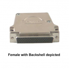 78-Pin Female D-type Connector without Backshell, Solder Bucket, 92-960-078-F