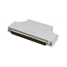 100-Pin SCSI Style Connector - C100SMR-1CR-6A - Discrete Wire, Metal Backshell