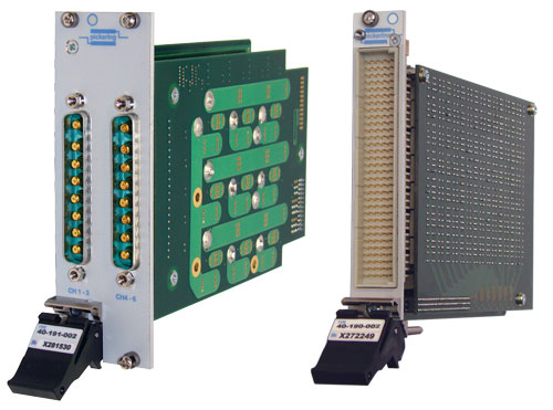 Pickering's PXI fault insertion modules