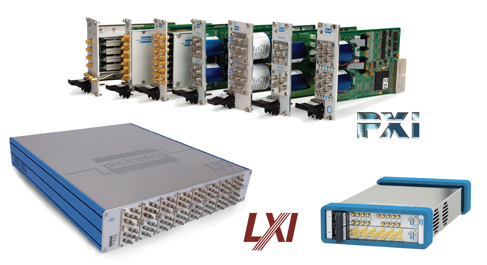 Pickering's PXI & LXI RF and Microwave Switching Solutions