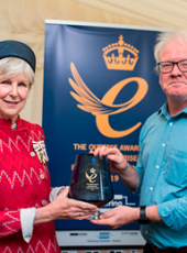Pickering presented with Queen's Award for Outstanding Short Term Growth in Overseas Sales