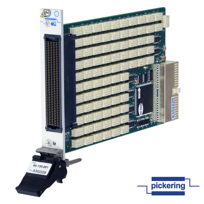 New High-Density 2 Amp PXI Relay Module - for medium power switching with very high density