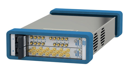 Pickering Interfaces 2-slot USB/LXI Modular Chassis