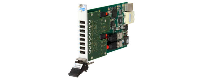 Pickering Interfaces Introduces New PXIe USB 2.0 Hub Module