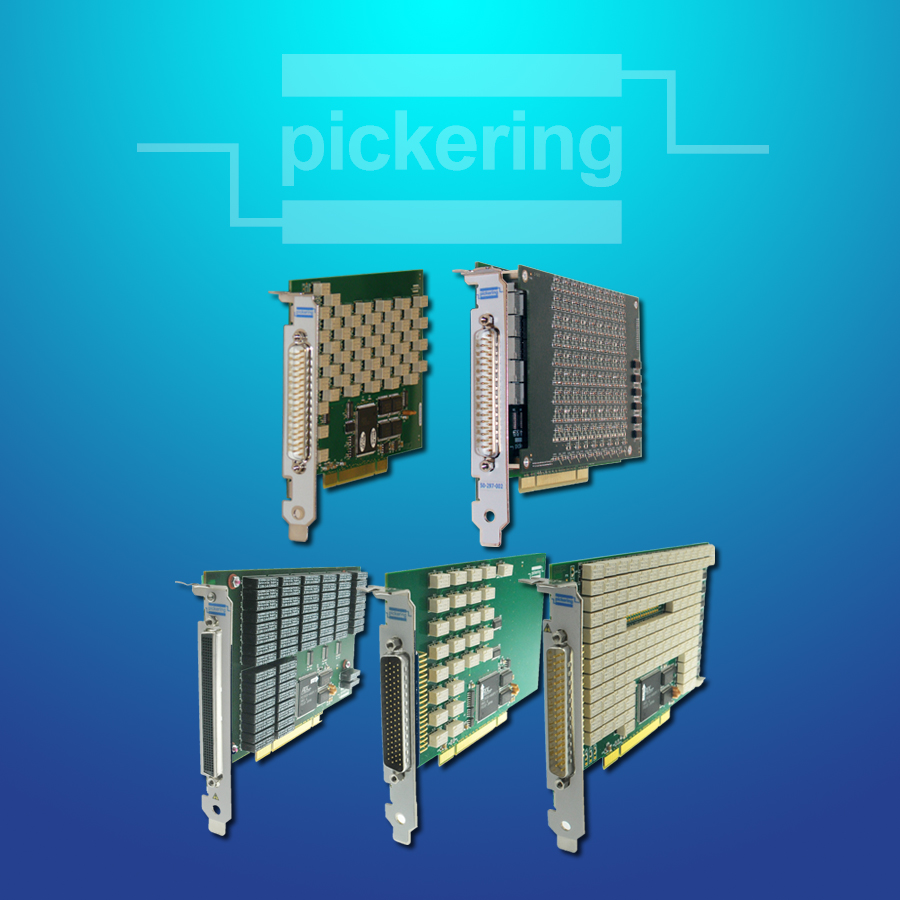 New PCI Switching Cards from Pickering
