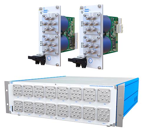 피커링 인터페이스, 동일 시스템 공간에서 성능을 확장할 수 있는 PXI, PXIe, LXI형 67GHz 마이크로웨이브 멀티플렉서 출시