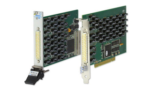 New PCI & PXI Programmable Resistor & Relay Soltuions from Pickering