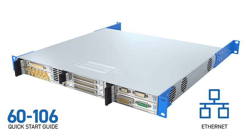 6-slot LXI/USB Chassis (60-106) for Ethernet