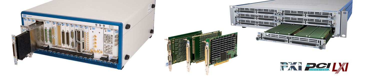 PXI, LXI and PCI switching and simulation - Product Selector