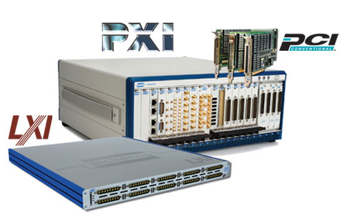 PXI LXI PCI switching simulation for Test Measurement