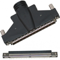 100 Pin 1.27mm Pitch Micro-D Connectors