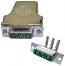 3 Pin Power D-Type Connectors for Pickering Products