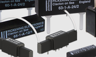 High Voltage Reed Relays from Pickering Electronics