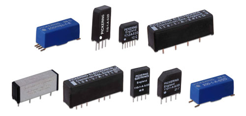 Instrument grade reed relays from Pickering Electronics