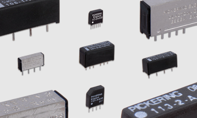 SIL / SIP Reed Relays from Pickering Electronics
