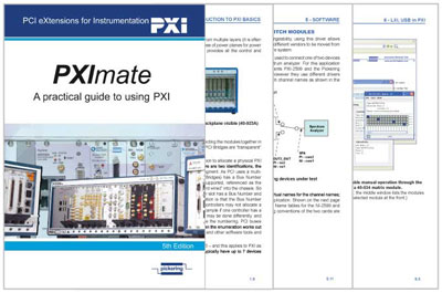 PXImate - Introduction to the PXI standard
