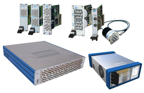 Pickering's RF & Microwave Switching Solutions to be one display at EuMW