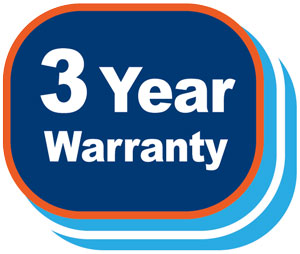 Pickering offers a 3-year warranty on all products it manufactures