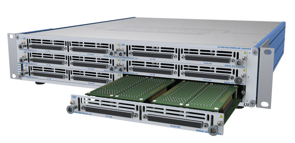 High-Density LXI Modular Matrix Chassis with Plugins - 65-200-002