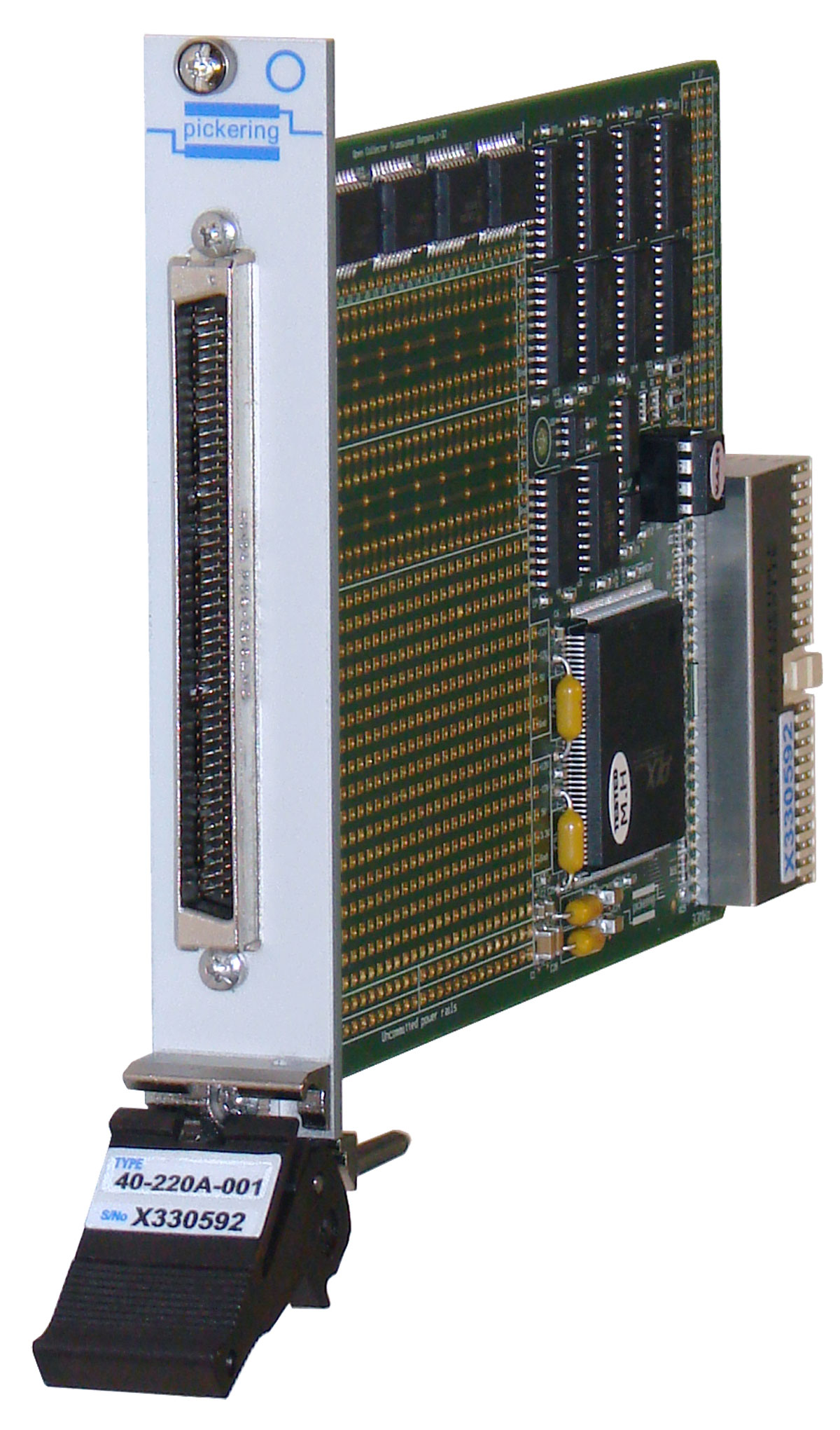 PXI breadboard module with digital I/O