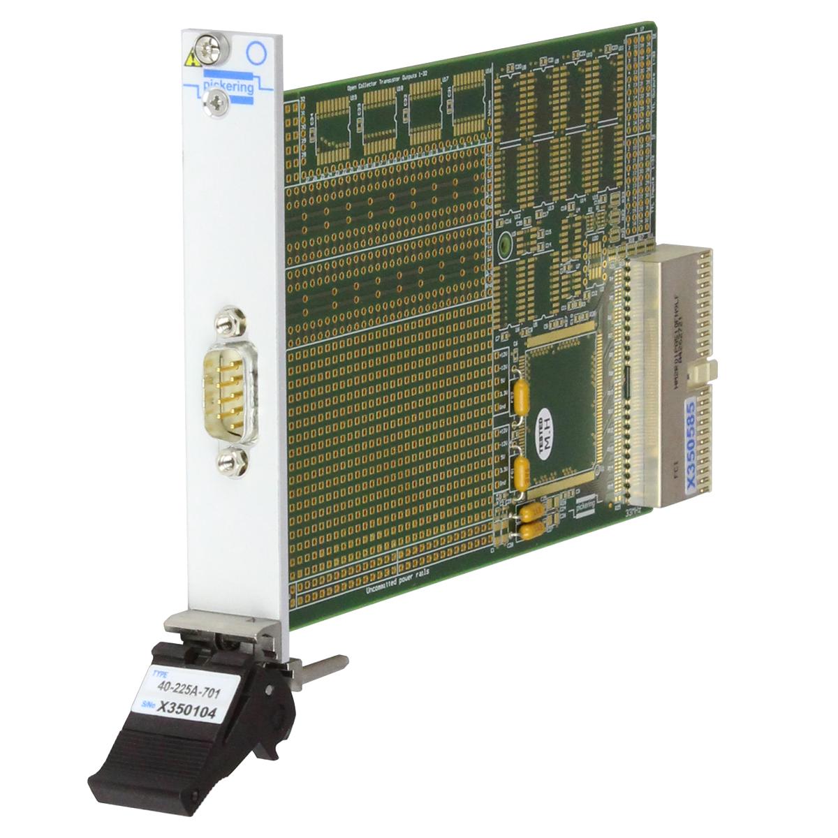 PXI Prototyping Module, 1-Slot, 9-way D-type - 40-225A-701