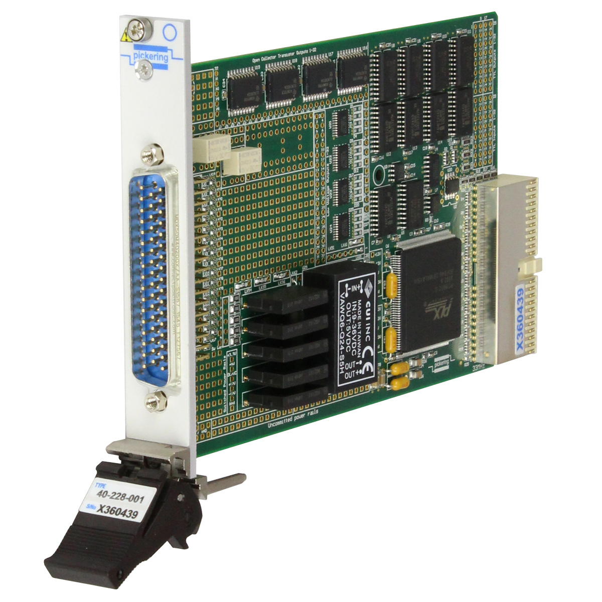 40-228 PXI Digital I/O Module With Power Distribution